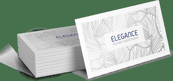 Wizytówka standardowa ELEGANCE