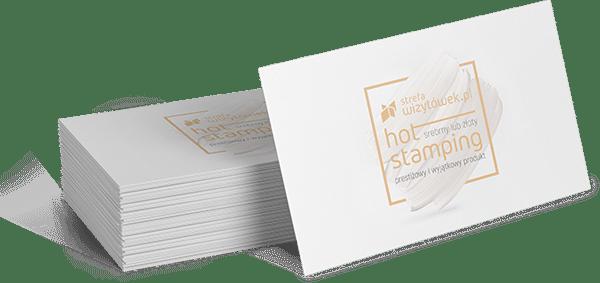 Wizytówka Plastic 0,7 Hotstamping