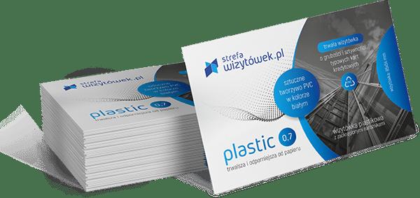 Wizytówka Plastic 0,7